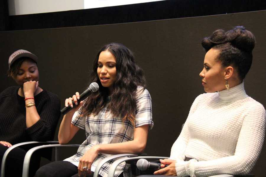 """Jurnee Smollett-Bell, one of the stars of """"Underground"""", speaks about the difficulty in portraying an enslaved character."""