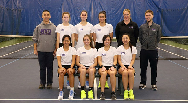 Women's tennis took seventh place at the UAA championship.
