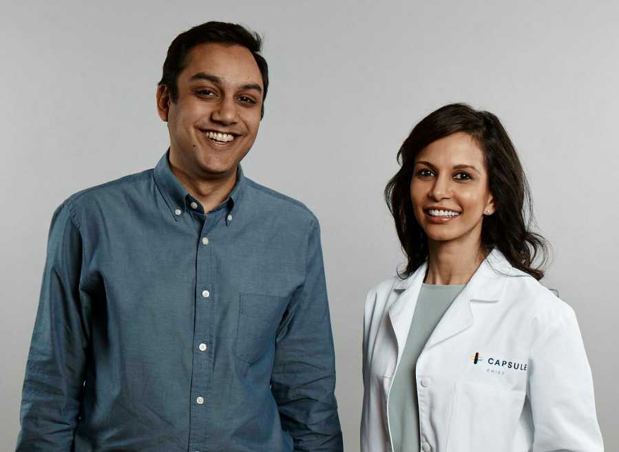 Capsule founders  Eric Kinariwala and Sonia Patel created the new pharmacy to make getting prescriptions more seamless.