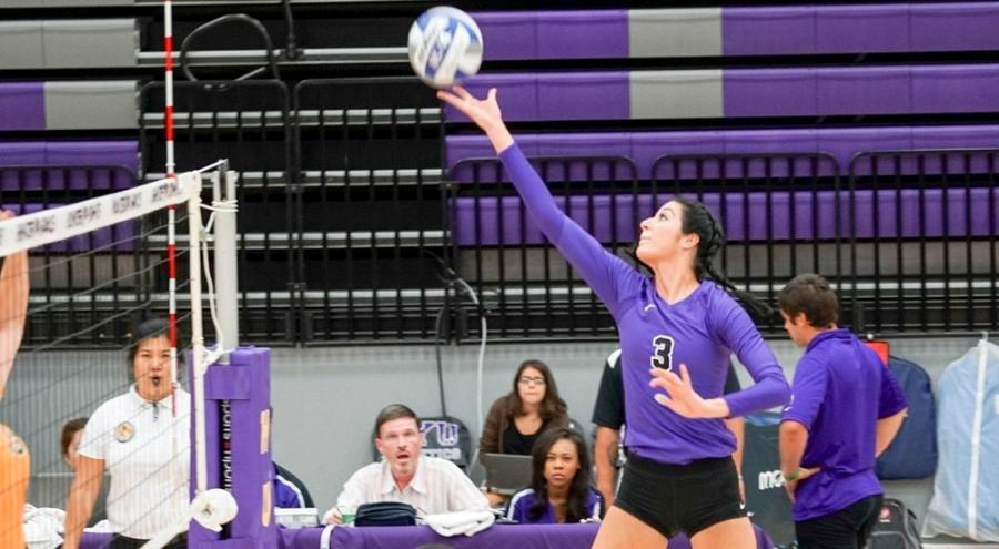 Women's volleyball competed twice this past weekend at Stevens Institute of Technology, winning both games.