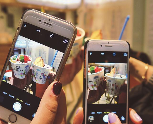 Millennials in today's age of tech take part in the trend of documenting their food on Snapchat and Instagram before they eat it.