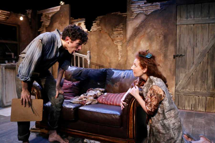 Crackskull Road runs at the Workshop Theater at 312 West 36th Street as part of Origins First Irish Theater Festival.