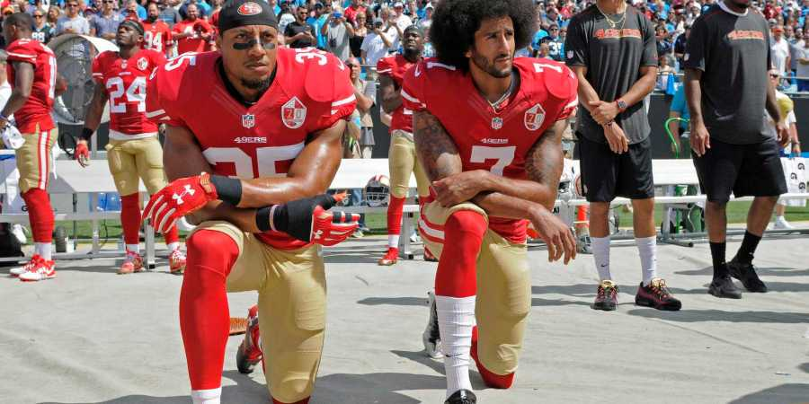 One of the San Francisco 49ers quarterbacks, Colin Kaepernick recently sat down during the performance of the National Anthem, causing major uproar among fans across the country.