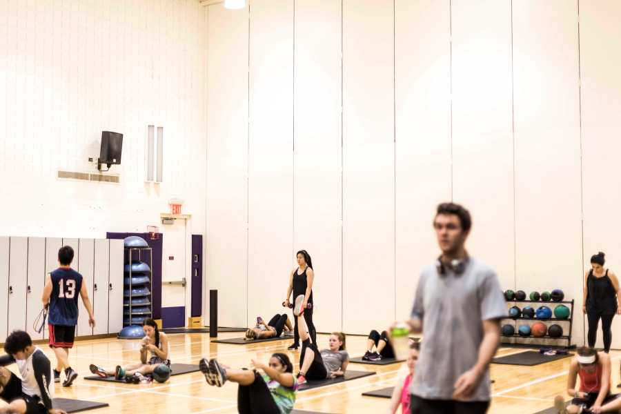 Palladium is one of many workout facilities that NYU offers to its students.