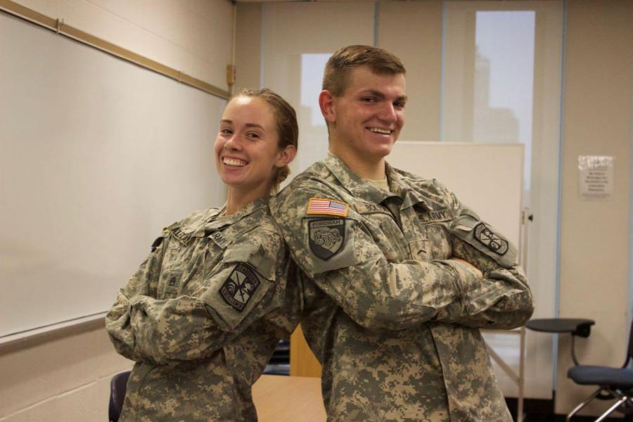ROTC students face a tough schedule on the daily, balancing a college life and military career simultaneously.