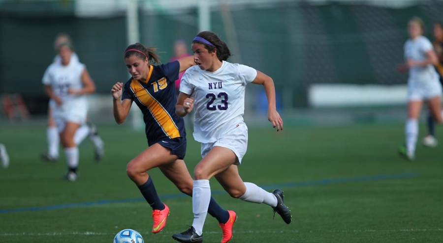 The women's soccer team continued their dominance with a 4-0 home win over Brooklyn College.
