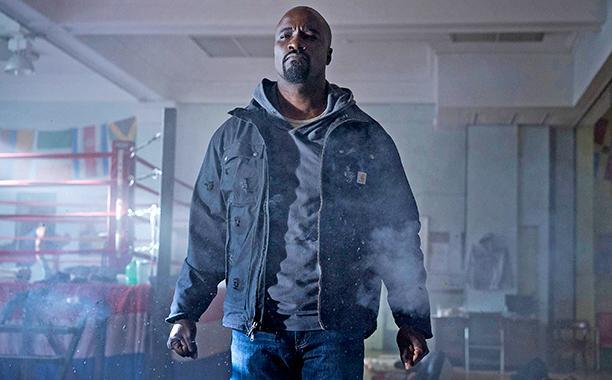 Scene from Marvel's TV Series Luke Cage.