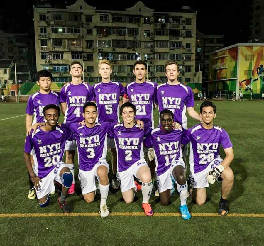 Passionate about their sport, athletes studying at NYU Shanghai find the sports scene to be much more casual than it is in New York.