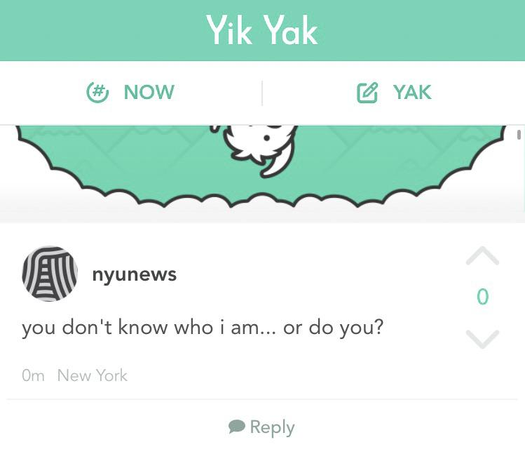"""YikYak allows users to post anonymous """"Yaks"""" that others nearby can view on the app, but Professor Keith Ross found a way to strip away the anonymity."""