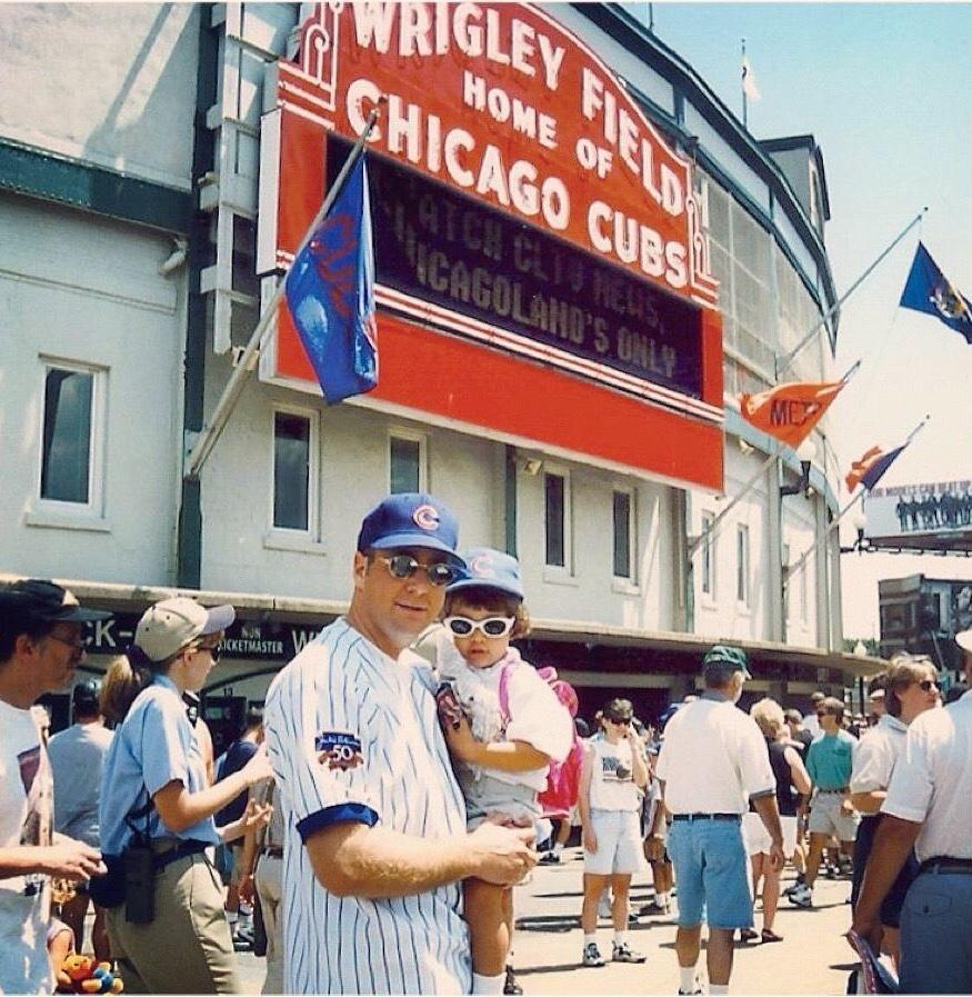 For every Cubs fan, the team is ingrained in the fabric of your family and your life forever.