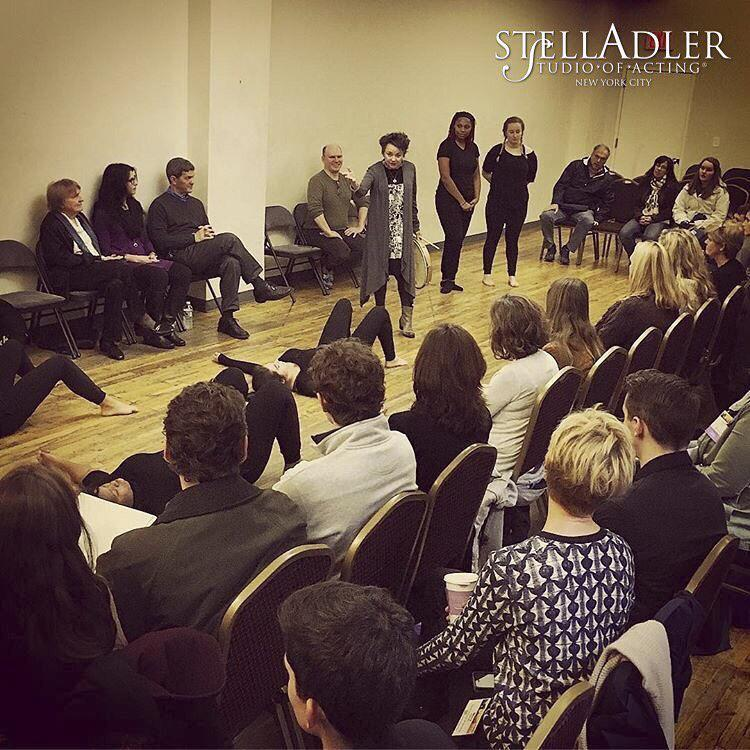 Although her teaching is not limited to Tisch students, Joanne Edelmann primarily acts as a professor in the Stella Adler Studio.