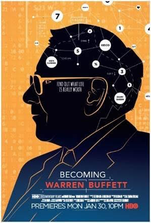 """A film about Warren Buffett, """"Becoming Warren Buffett,"""" shows various aspects of this billionaire's life, from his rise in success to his underlying humility."""