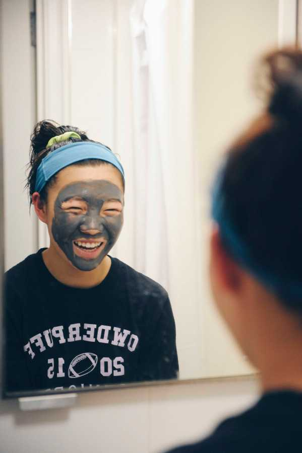 Along with creams and serums, use a mask to soak up oil, dry up impurities or add moisture.