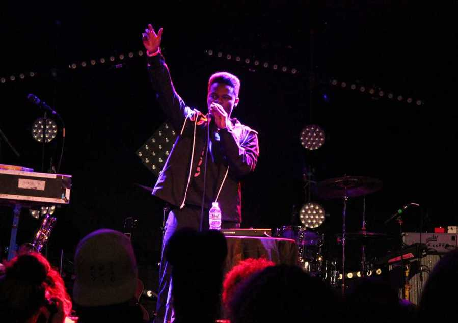 """Hip hop artist Daye Jack performed at Bowery Ballroom on Feb. 27. His new LP """"No Data,"""" will be released on March 24."""