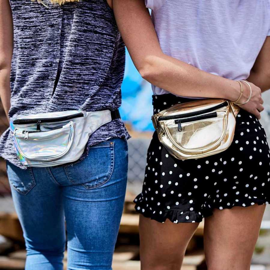 Fanny packs are a hands-free bag that are coming back into style. Even Kendall Jenner and A$AP Rocky have been toting this trend lately.
