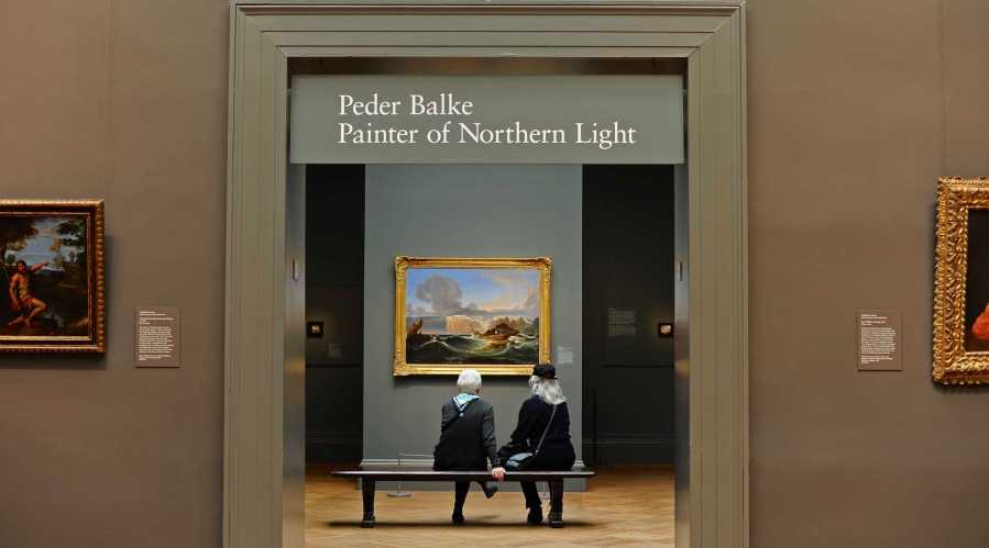 """""""Peder Balke: Painter of the Northern Light"""" is on view at the Met Fifth Avenue at 1000 Fifth Ave. through July 9."""