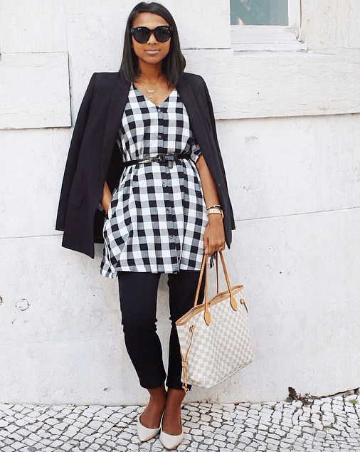 The dress over pants trend was popular in the early 2000s. There is a question of whether or not this trend can and should be brought back.