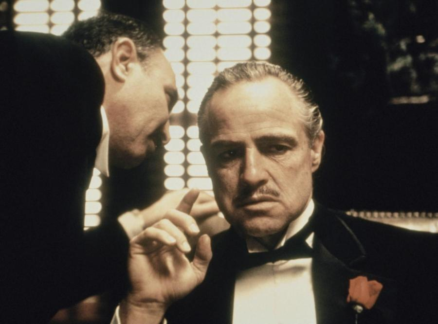 """At the Radio City Music Hall on April 29, """"The Godfather"""" and """"The Godfather: Part II"""" played back-to-back in honor of the 45th anniversary."""