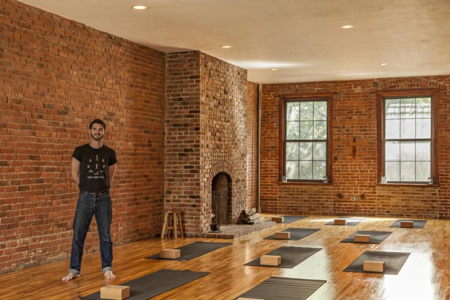 Gallatin alum Alex Schatzeberg brings New Vibes to St. Marks with his yoga studio.