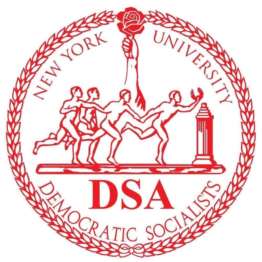NYU's Democratic Socialists of America Logo