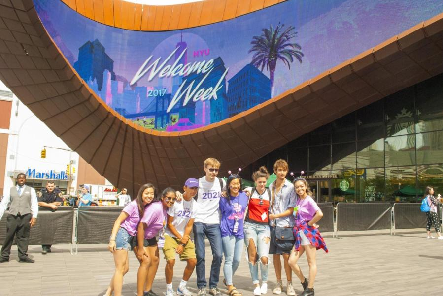 Welcome Week introduces first year students to the university and includes a number of events to get them situated in the city.