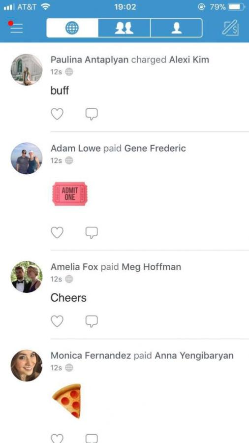Venmo has become the go-to method for transactions between students.