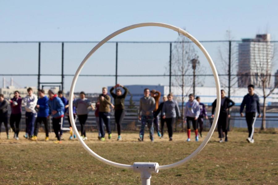 NYU's quidditch teams, Varsity and Pigeons, bring Harry Potter dreams to life by adapting the wizard sport to the grass field.
