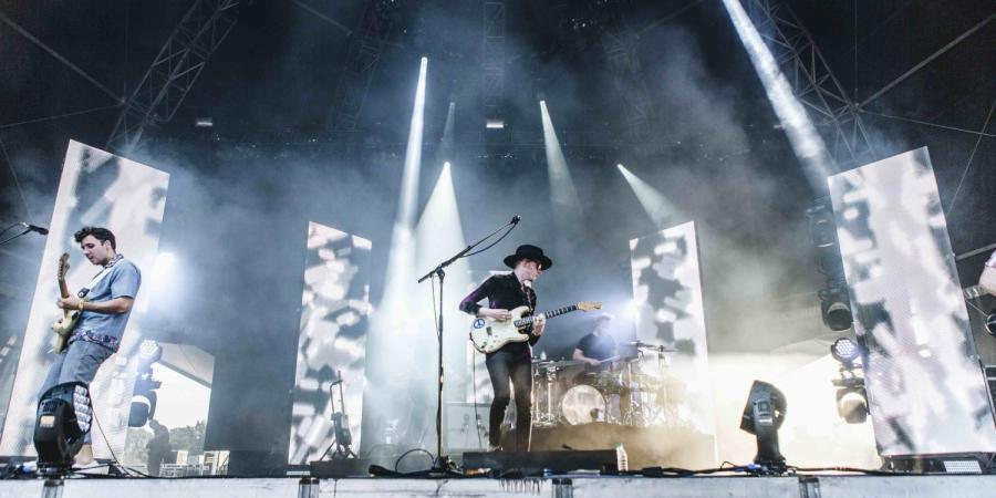 Two Door Cinema Club performing at the Meadows on Sept 15, 2017.