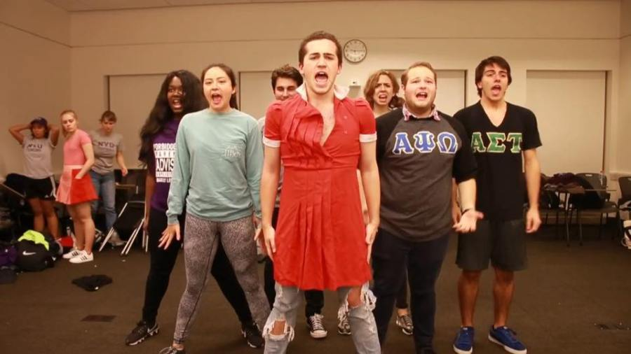 """The College of Arts and Science Theatre presented """"Forbidden NYU"""" Friday night, where performers sang classic Broadway hits, but with lyrics to fit all things NYU."""