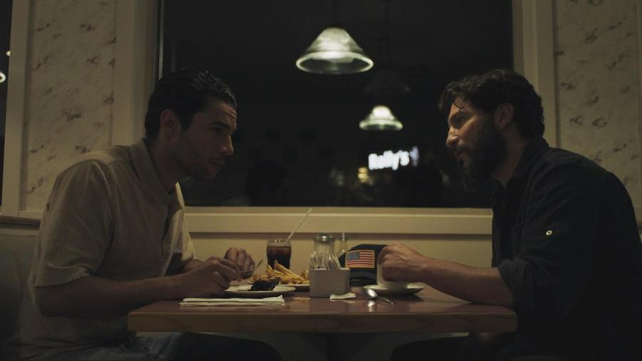 """""""Sweet Virginia"""" is the new film by director Jamie Dagg, as it explores the lives of Sam (left) who has been affected by the murders committed by Elwood (right), in a small town in Alaska. The film opens in theatres Friday, Nov. 17."""
