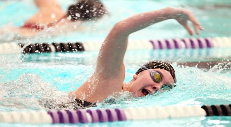CAS junior Grace Wakabayashi placed second for the women's swim team in a 1,650-yard freestyle event at MIT's winter invitational on Dec. 1.