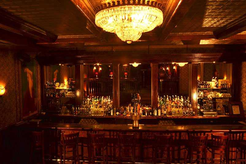 The Back Room is a celebrated Prohibition-era speakeasy tucked away in the Lower East Side.