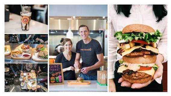 Next Level Burger is an 100 percent plant-based burger joint. Its new location will open inside Whole Foods Market at 283 Bedford Ave. on Jan. 31.