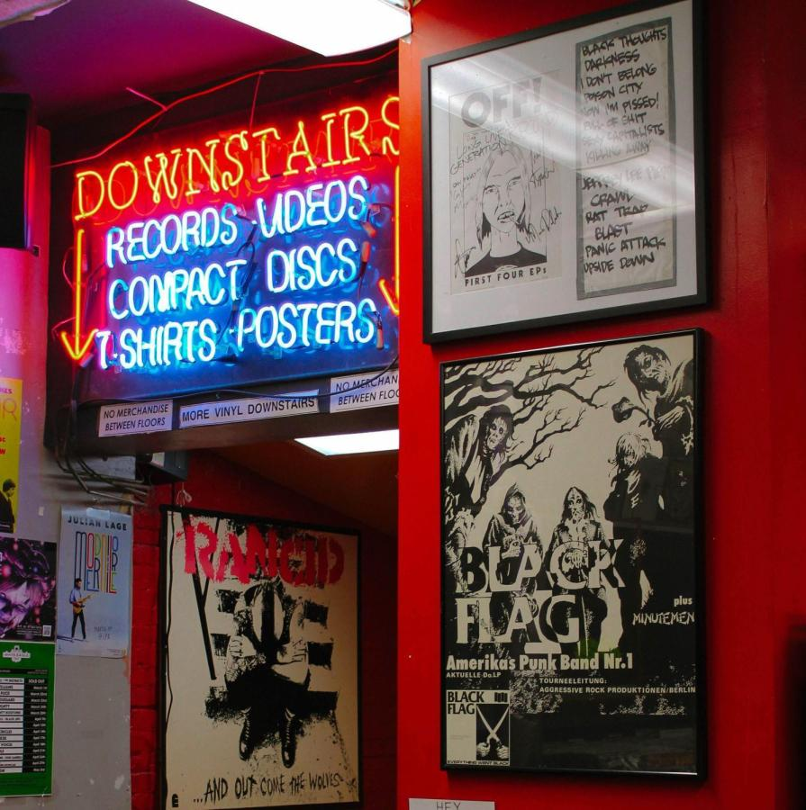 Generation Records provides a variety of music merchandise and memorabilia.