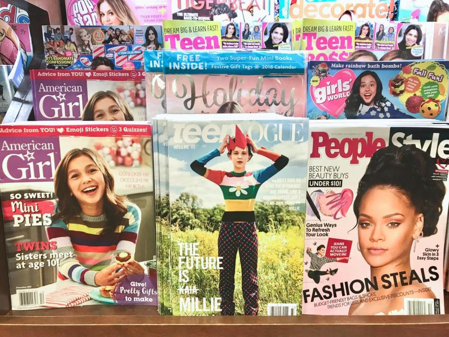 Teen+Vogue+on+display+at+Barnes+and+Noble.