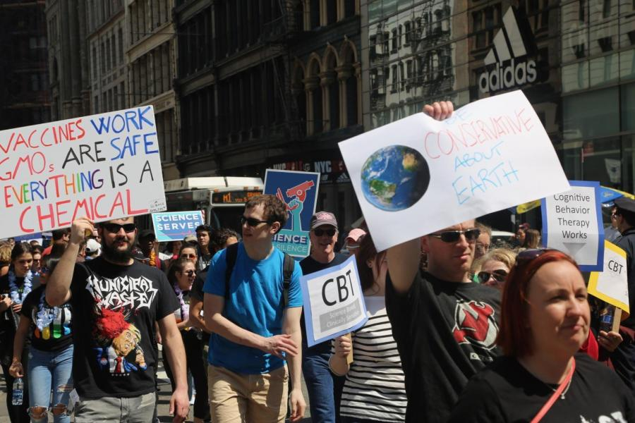 March for Science on Apr. 14, 2018.