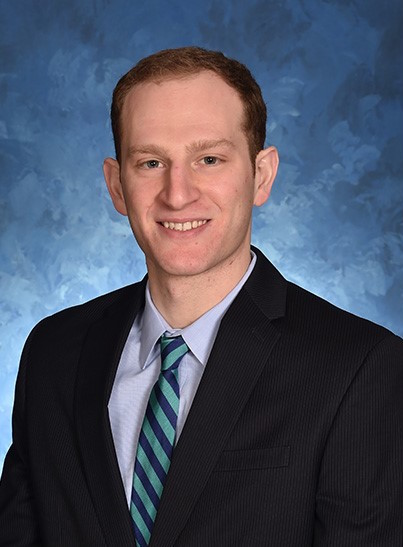 Andrew Brown, new head coach of the women's volleyball team.