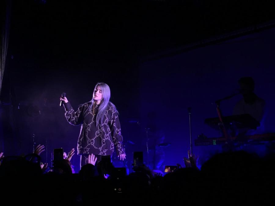 16-year-old pop star Billie Eilish plays a sold-out show at The Bowery.