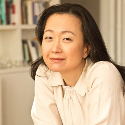 Author Min Jin Lee spoke at this year's launch for undergraduate literary magazine