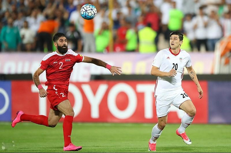 Syria and Iran drew in a 2018 FIFA World Cup qualification match.