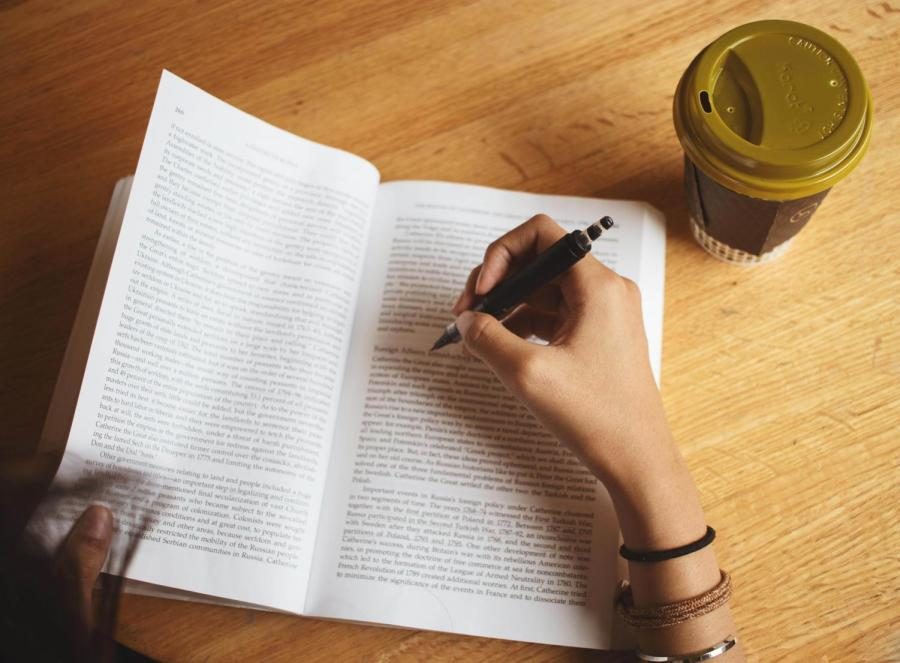 Creating the proper habits, such as studying, can improve students' daily lives. (Photo by Marva Shi)
