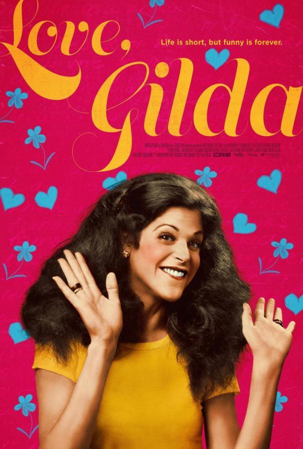 Love, Gilda looks back on the career and life of Gilda Radner.