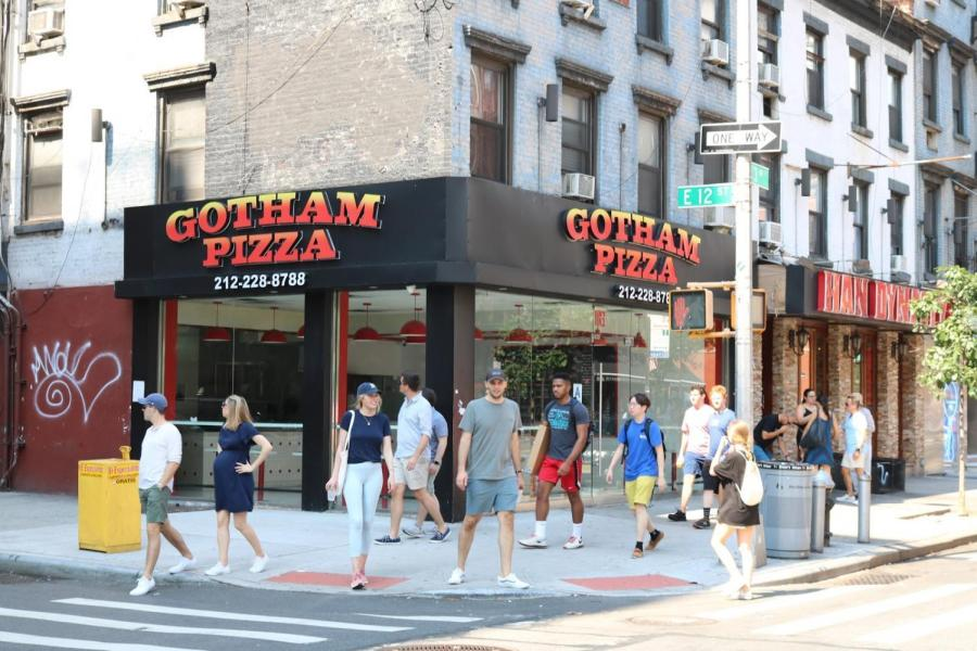 Gotham Pizza, opposite Third North Residence Hall, has served its last pie.