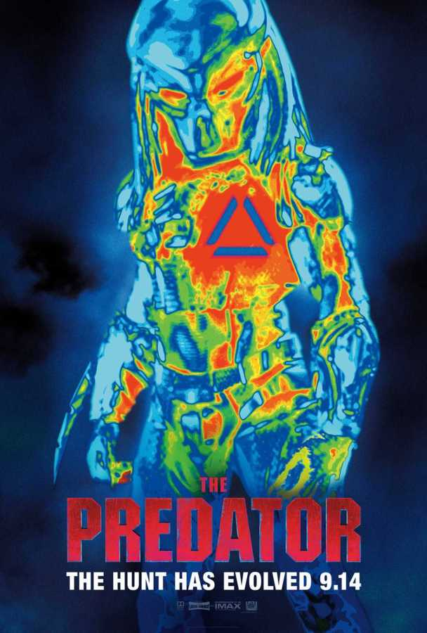 """Poster for the movie The Predator."""""""