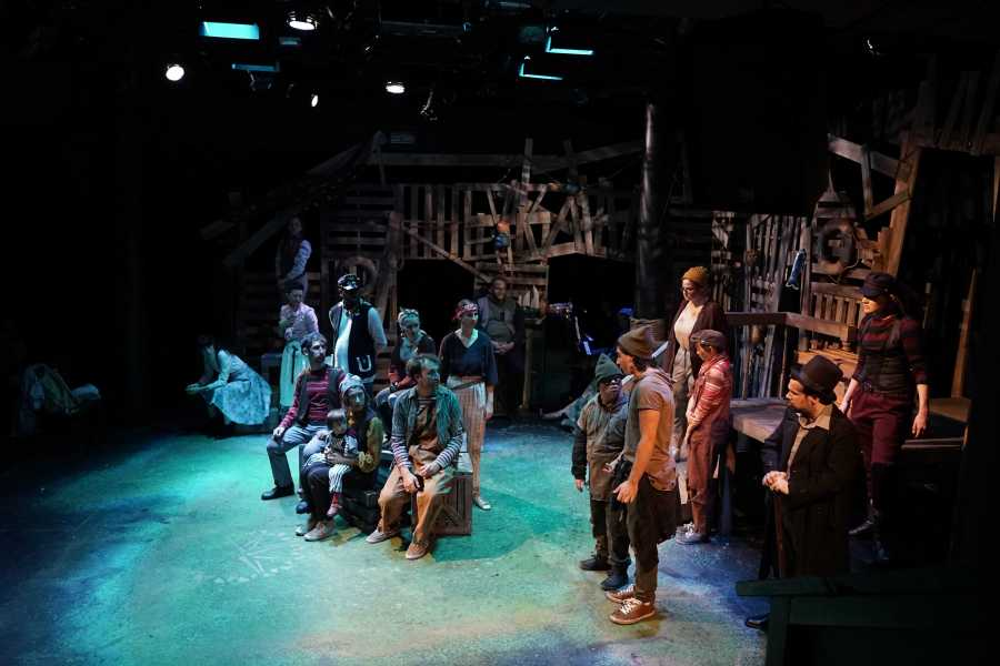 A scene from the production of Peter the Starcatcher. (Courtesy of NYU Steinhardt Educational Theater Program)