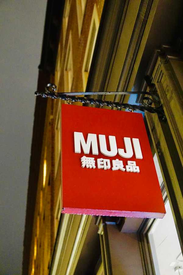 MUJI+sells+high-quality+stationery+and+school+supplies.+The+closest+branch+to+campus+is+in+Cooper+Square.+%28Photo+by+Jorene+He%29