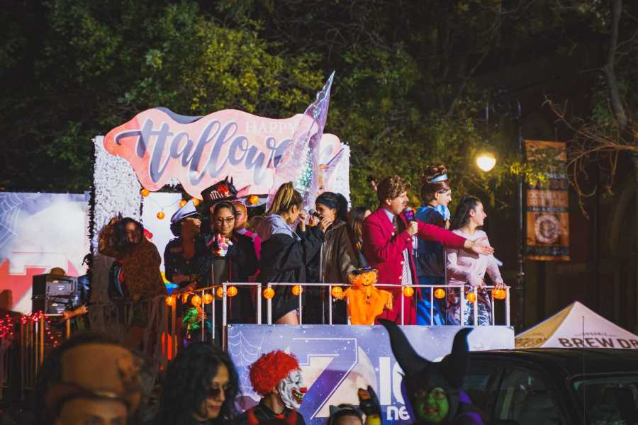 A float from this year's NYC Halloween Parade. (Photo by Tony Wu)