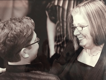 Zach Hausman and his grandmother, who passed away on Feb. 10, 2012. (Courtesy of Zach Hausman)