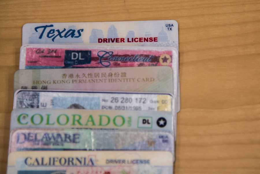 Some students elect to use fake IDs for nights out before they turn 21. (Photo by Sam Klein)