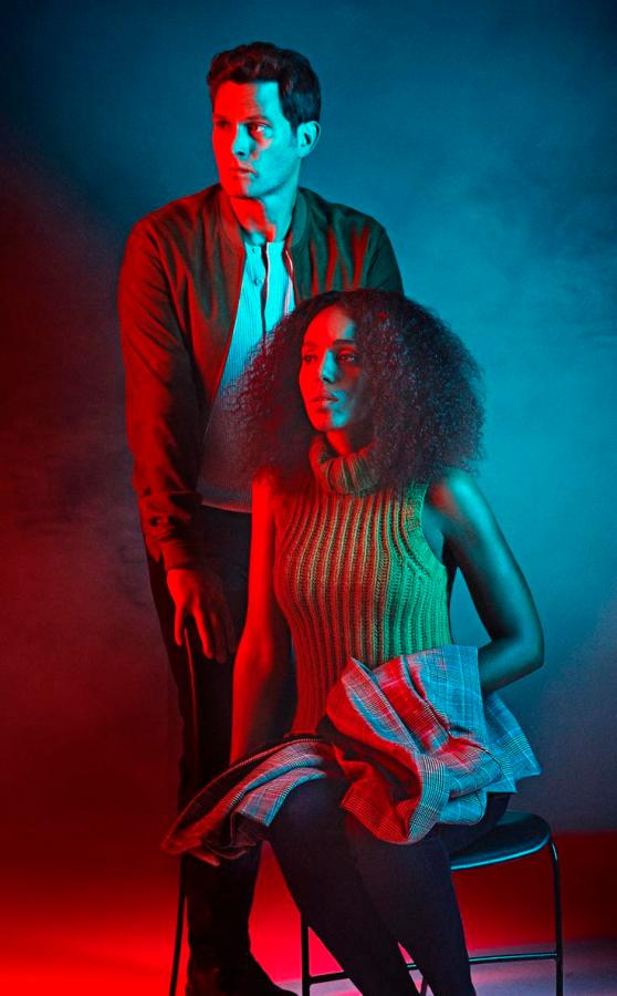American Son's leads Kerry Washington and Steven Pasquale.